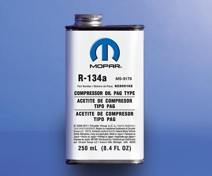 dodge ram ac compressor oil capacity